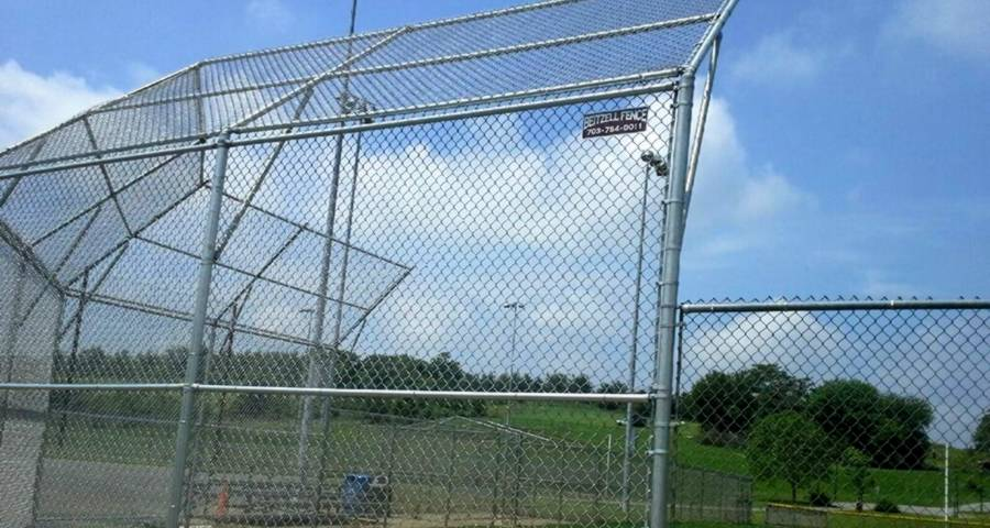 Chain Link Fence Is the Standard Fencing for Baseball & Softball Field