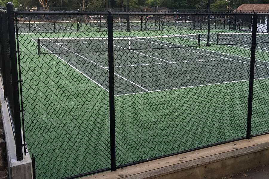 Tennis Court Chain Link Fence Ideal For Audience