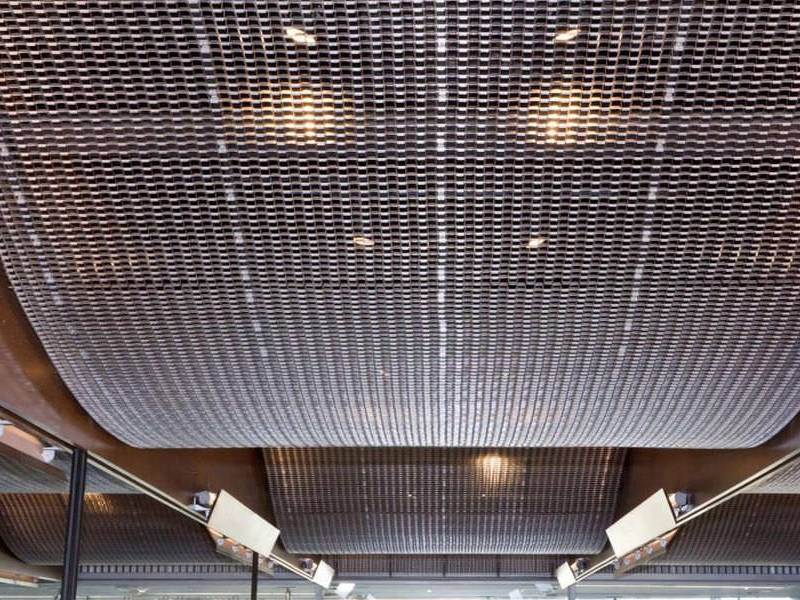 Cable Mesh Ceiling Were Being Used In Buildings For