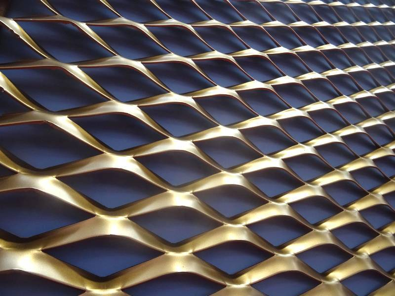 Walcoom Architectural Meshes Expanded Metal Perforated