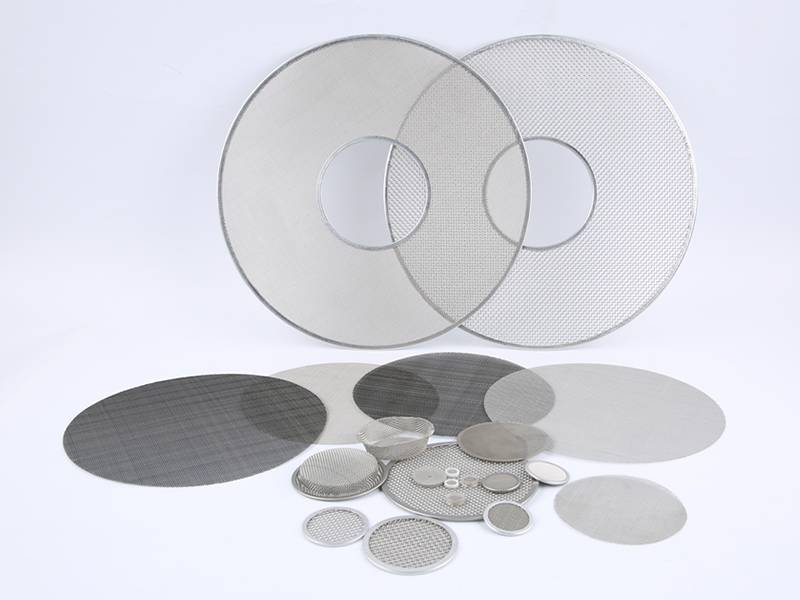 These are some of filter discs that we offer, they have different configurations.