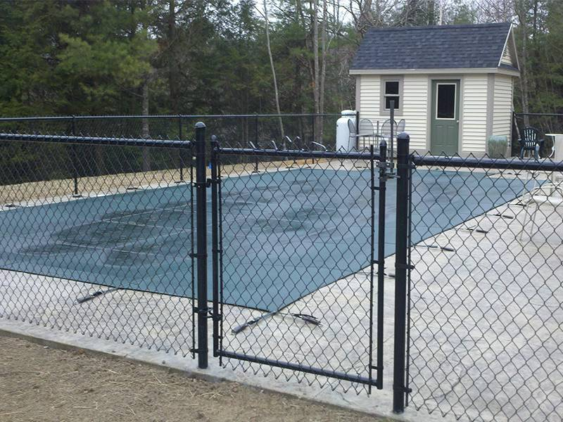 Gallery Center of Chain Link Fence Gate