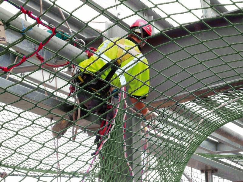 Gallery Center Of Scaffold Debris Netting