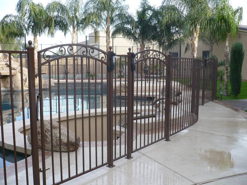Gallery Includes The Application Of Wrought Iron Fence