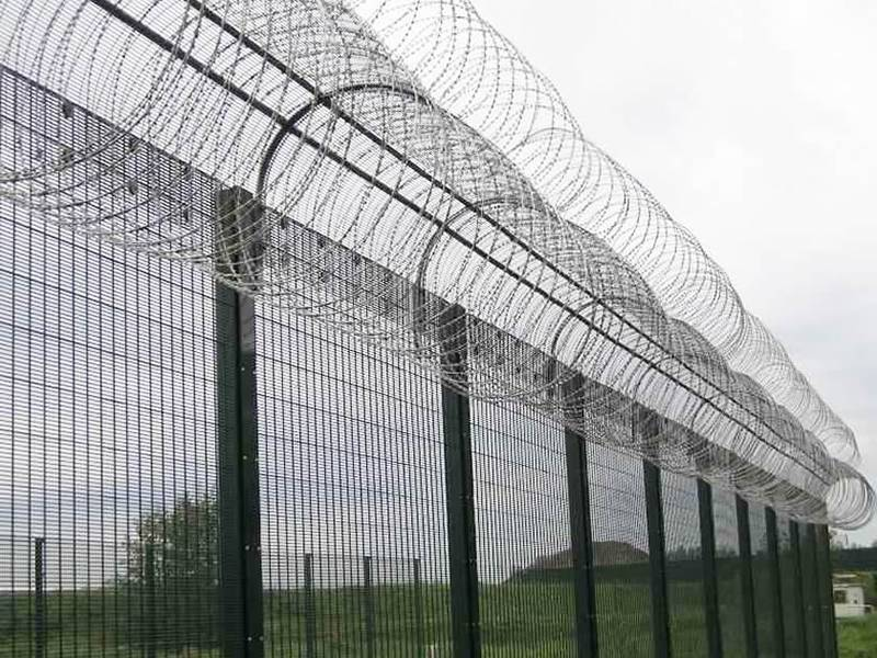 358 Fence Anti Climb Rigid Fence For Higher Level Security