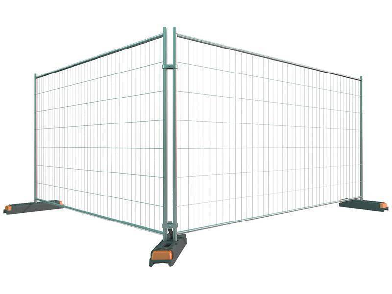 Temporary Fencing With High Flexibility Popular At Event Areas
