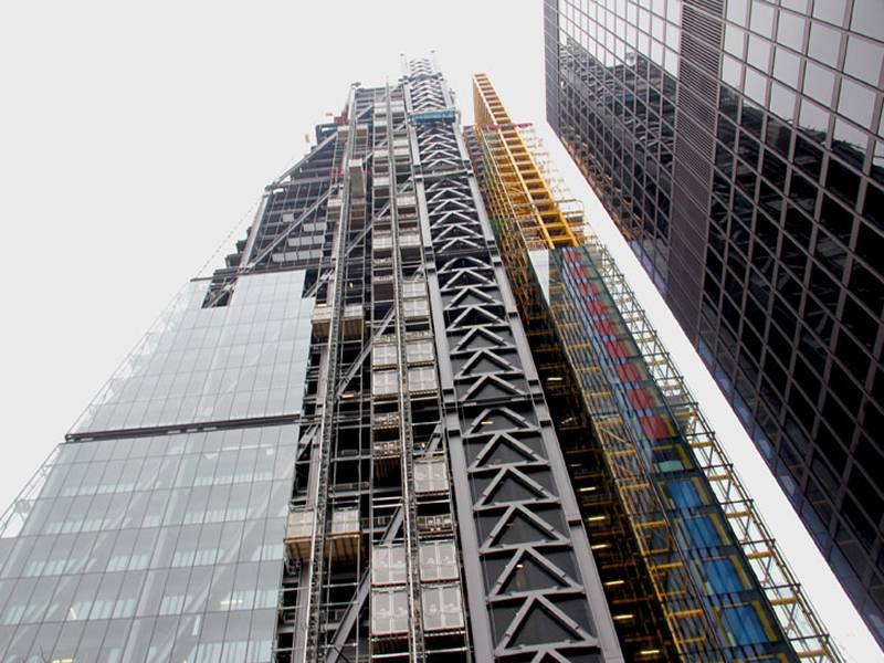 How to improve the efficiency and quality of building construction a picture of high rise building construction site which using professional construction tool system malvernweather Choice Image