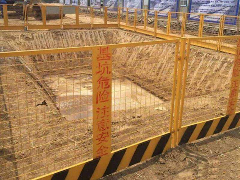 Excavation Edge Protection Prevents Falls From Height Into
