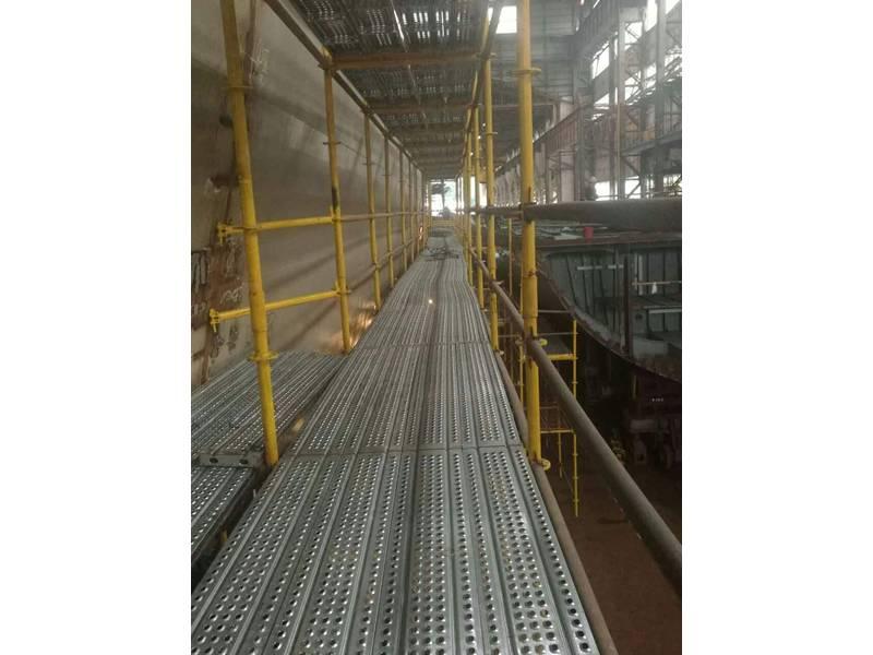 Steel Scaffold Plank Used In Steel Scaffolding For