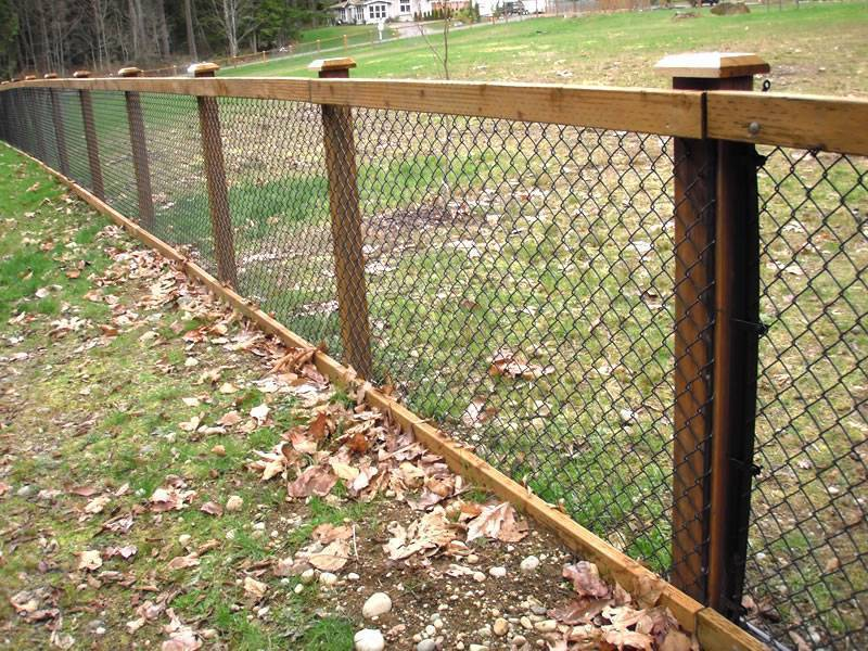 Chain Link Fence Traditional Solution To Affordable Security