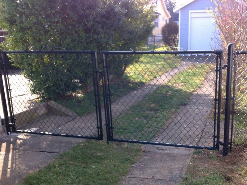 Chain Link Fence Gate For Residential Industry And
