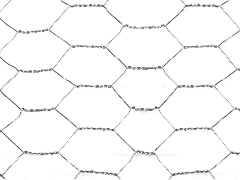 This is galvanized chicken wire mesh.