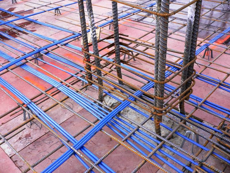 Reinforcing Bar Support For Building Foundation And Bridge