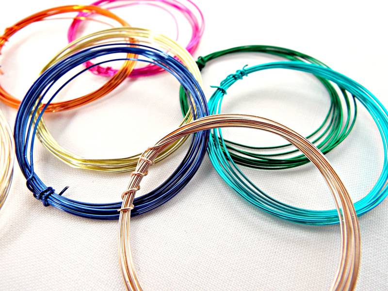 Enameled Craft Wire–Floral Wire, DIY Wire, Jewelry Wire