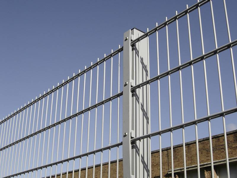 High Strength Double Wire Fence For Protection Of House