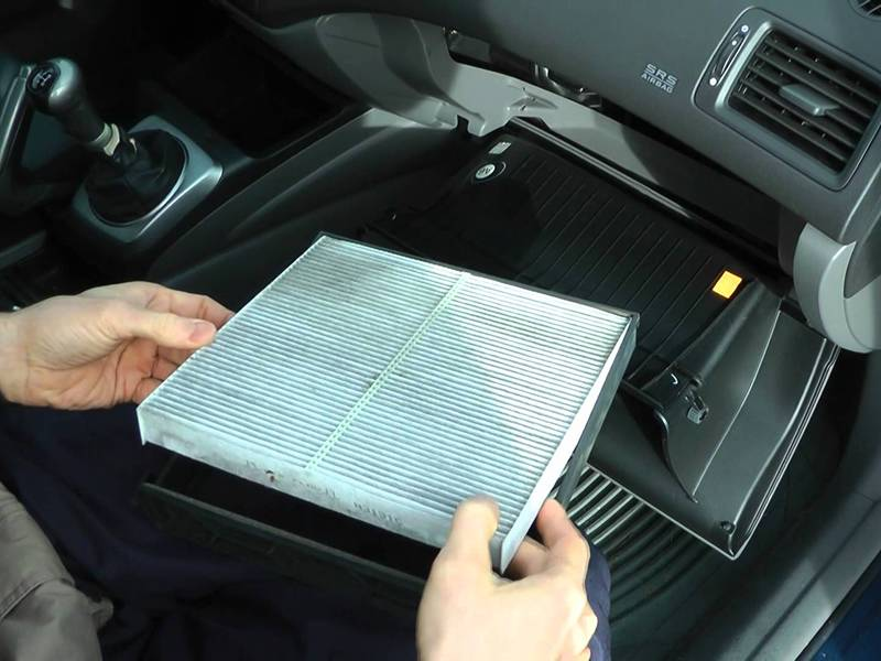 A picture about filter element of car for air filtration.