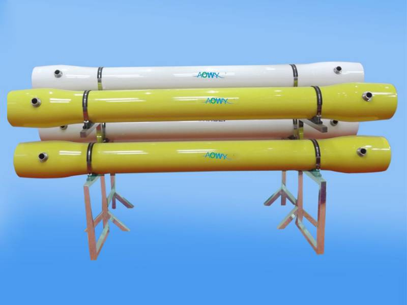 "Aowy series membrane housing with 8"" inner diameter."