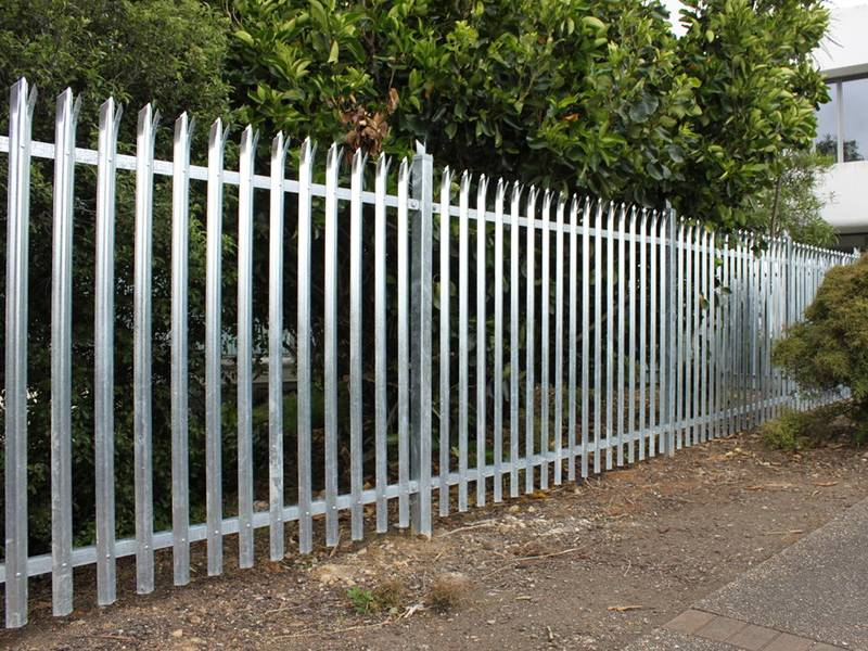 Steel Palisade Fencing Best Solution For Premise Protection