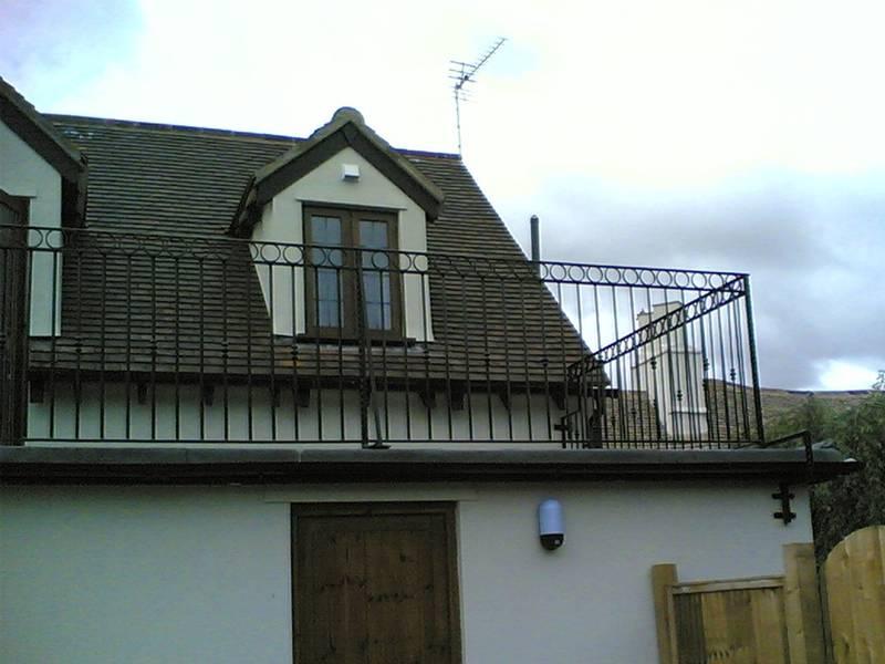 Balcony Fence For House Community Villa Coffee Shop