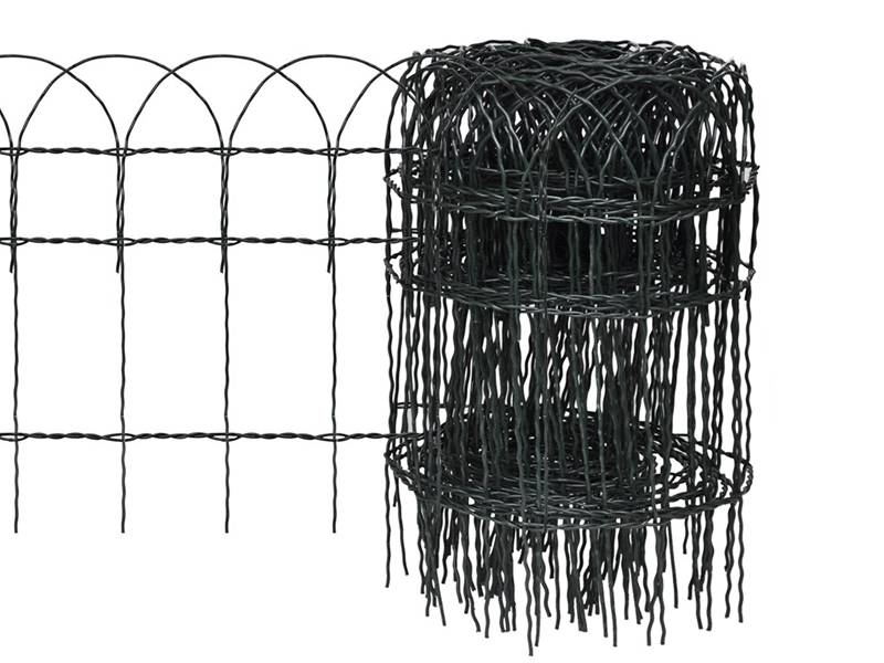 Garden Fence Rolls With Various Materials Is A Kind Of Continuity Fence To  Protect Your Garden.