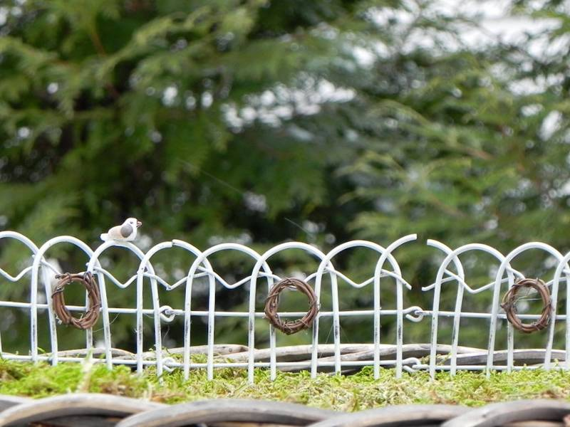 Decorative Garden Border Fence For Garden Park Square