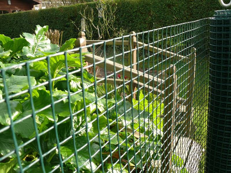 Border Garden Fence For Garden Park Flower Bed Lawn