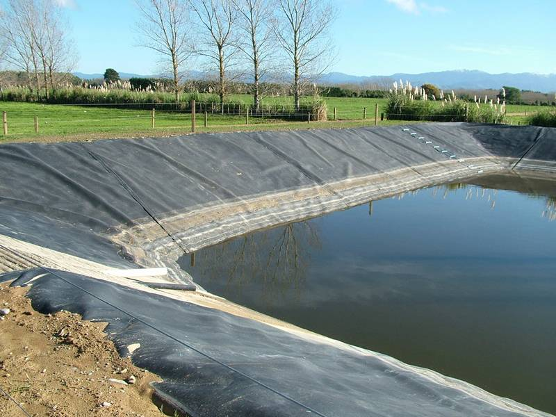 Geomembrane For Tunnel Landfill Railway Pond Dam Slope