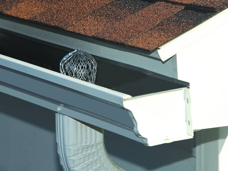 Gutter Guard Filter For Roof Gutter Drainage Pipe To