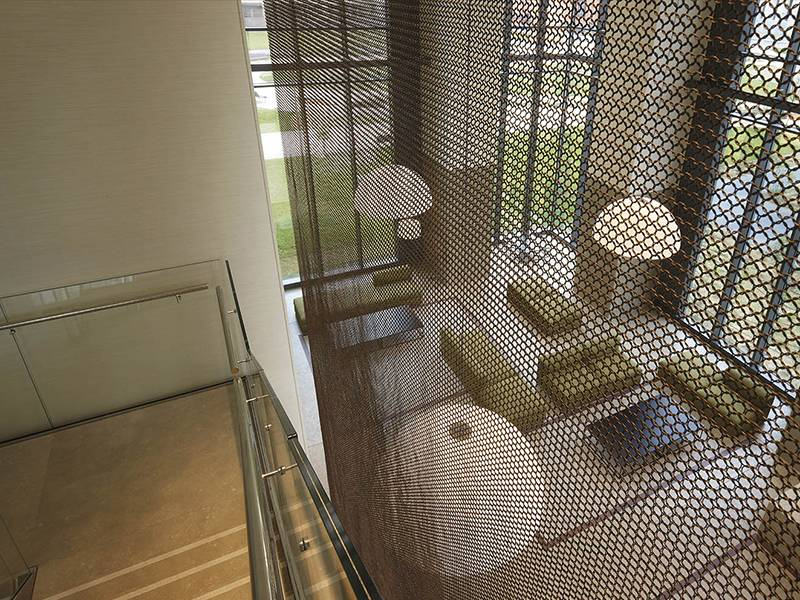 Flexible Mesh Curtain For Window Curtains And Decorative