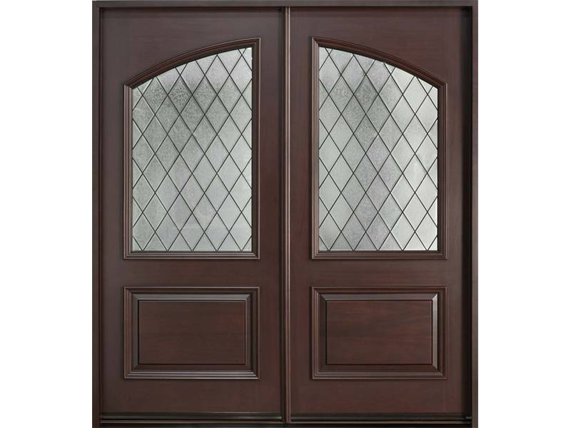 The Screen Of This High End Door Is Made Of Diamond Wire Mesh Wired Cast