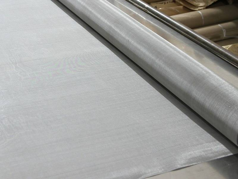 This is one roll of monel wire mesh with very fine mesh.