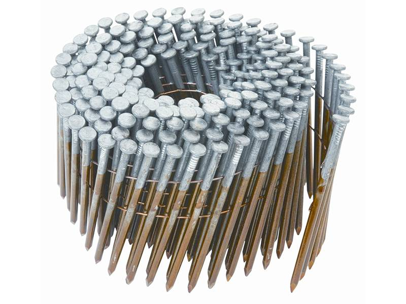 This is a roll of coil nails.