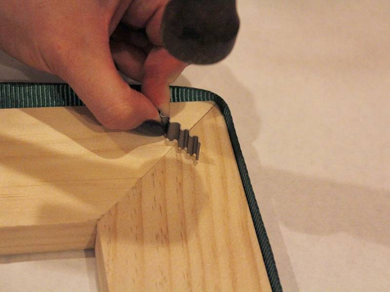 Corrugated Nails For Photo Frame Wooden Furniture Board