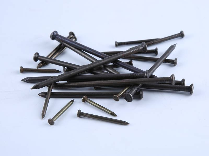 There are many different types and sizes smooth shank nails.