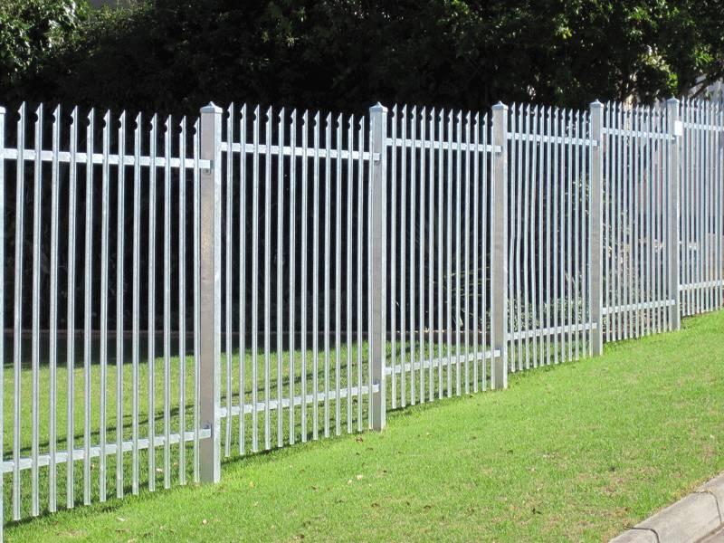 Steel Palisade Fencing Best Solution For Premise