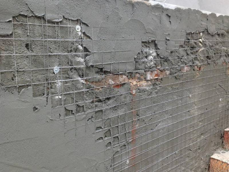 Welded Wire Plaster Mesh For Reinforcing Wall Ceiling In