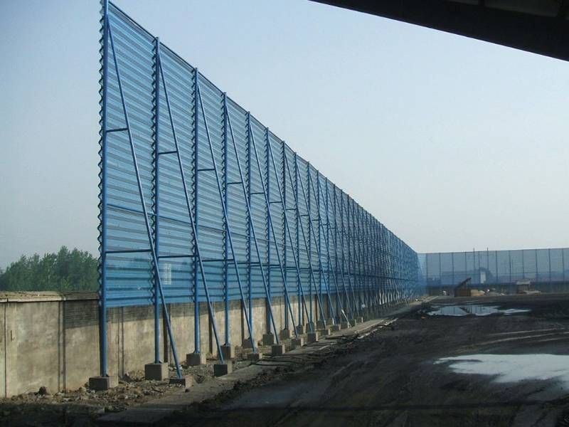 Windbreak Panel Stops Wind And Dust In Power Plants And