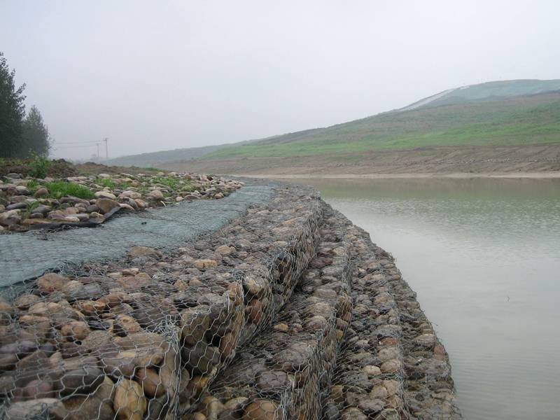 Woven Gabion Baskets For River Bank Protection And Blood