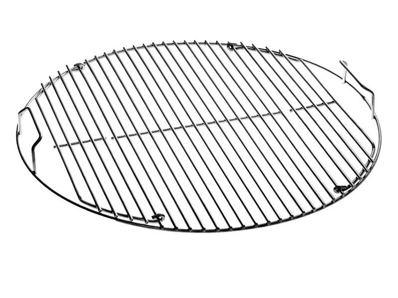 roasting rack used for roasting seafood  vegetables  bread