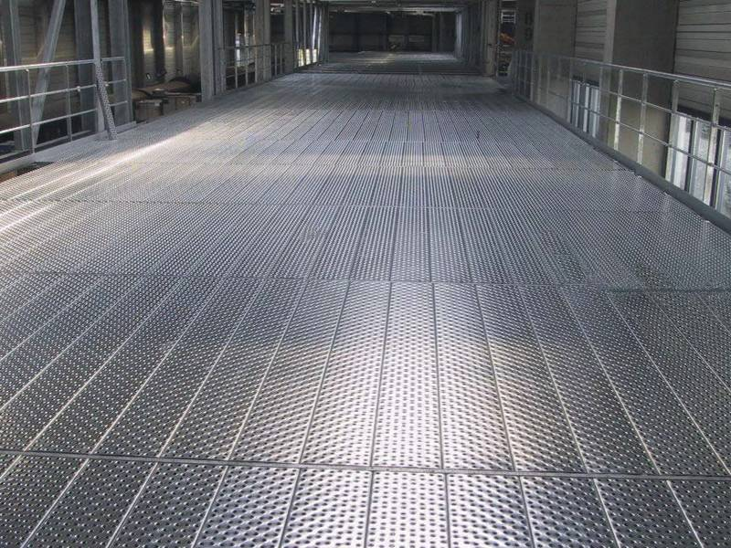 Traction Grip Safety Grating For Walkway Platform In