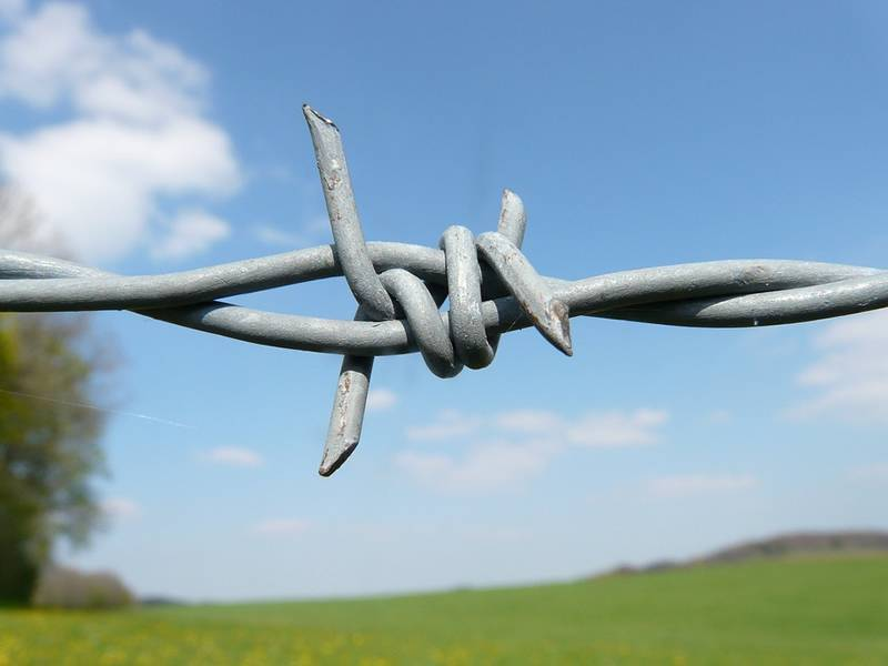 Barbed Wire for Prison, Airport, Farm, Ranch, Residence Fencing