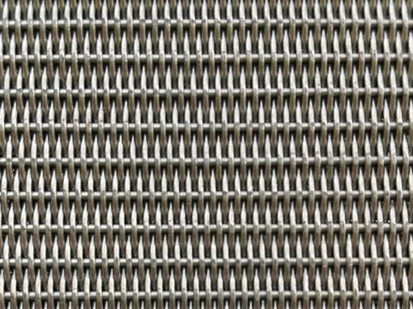 The detail of dutch woven sintered wire mesh.