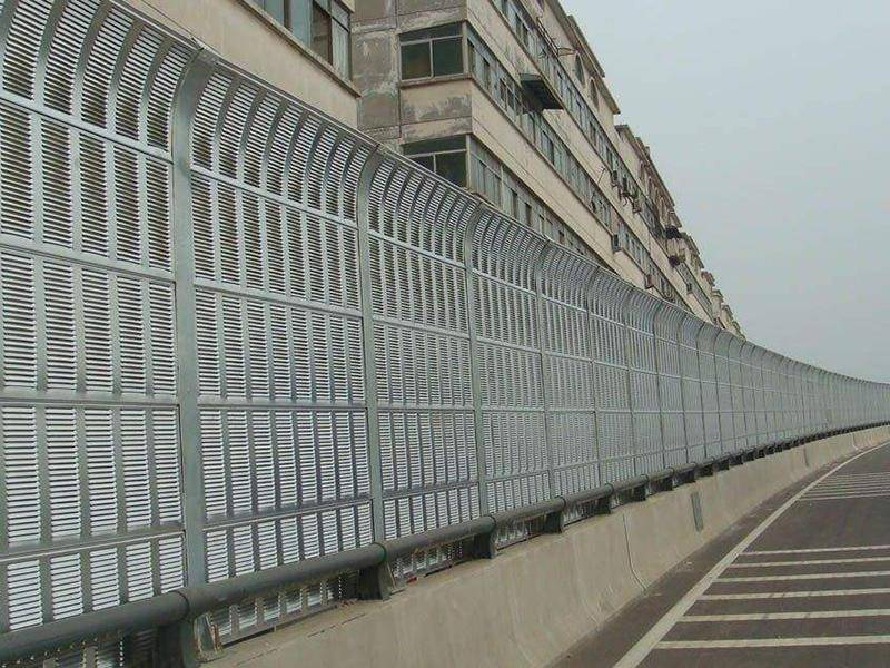 Aluminum Sound Barriers for Highway or Railway Noise Weakening