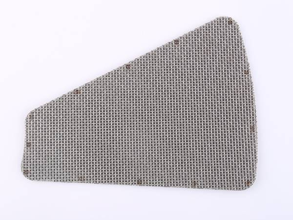 A special shape sintered wire mesh.