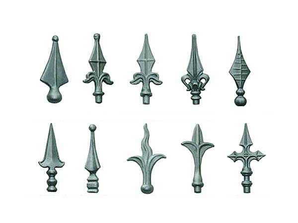 Many kinds of fence finial for wrought iron fence.