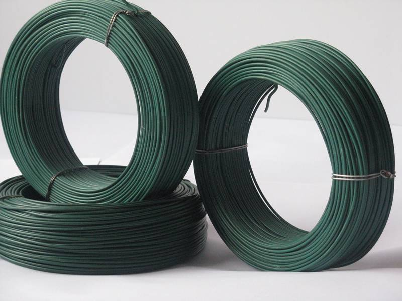 Pvc Coated Wire For Binding Hanging Fence Clothes