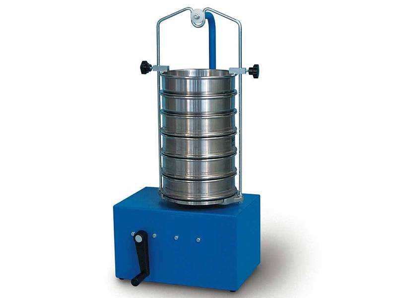 Sieve Shaker For Sieving Grain Fiber And Flat Crystals In