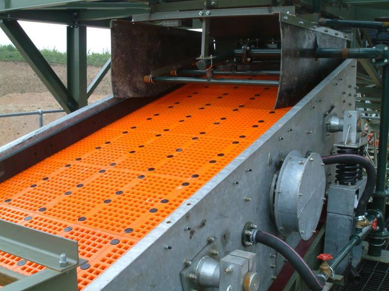 Polyurethane Screen For Quarry Mineral Crusher