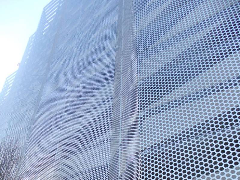 Hexagonal Hole Perforated Metal For Architect And Fence