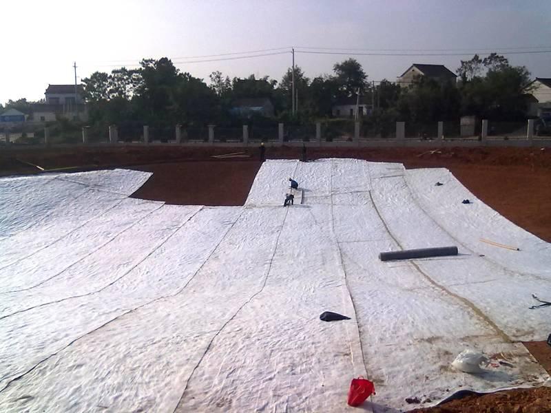 Bentonite Waterproof Blanket For Landfill Lake Oil Depot